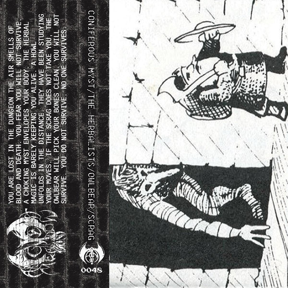 Coniferous Myst / The Herbalists / Owlbear / Scrag - Split Tape