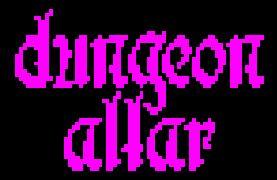 Dungeon Altar